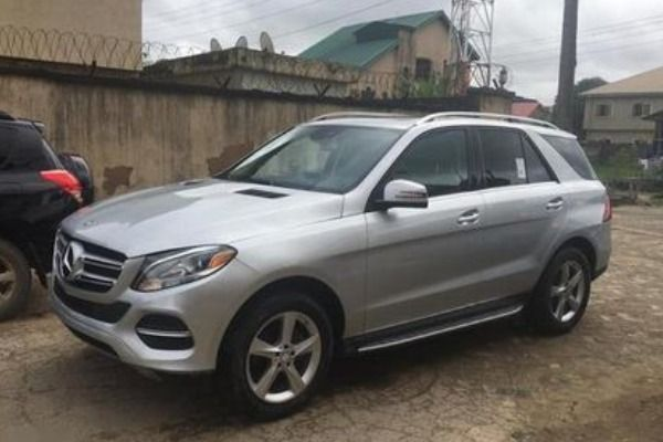 Mercedes-Benz-GLE-Class-vehicle-parked-outside