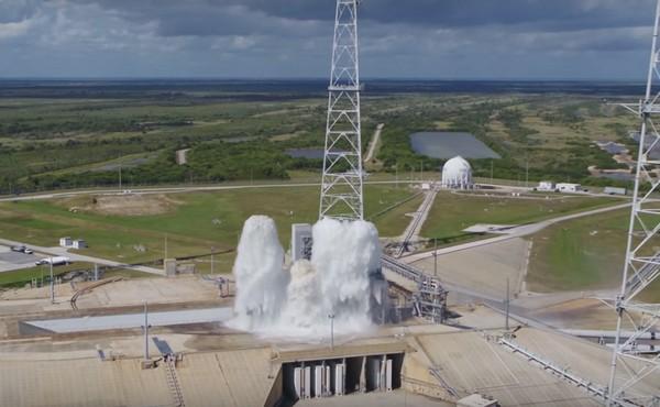 water-on-nasa-launch-pad