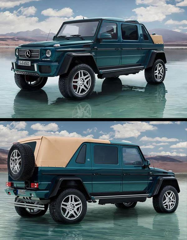 Exterior-view-of-Mercedes-Maybach-G-650-Landaulet-Convertible-SUV