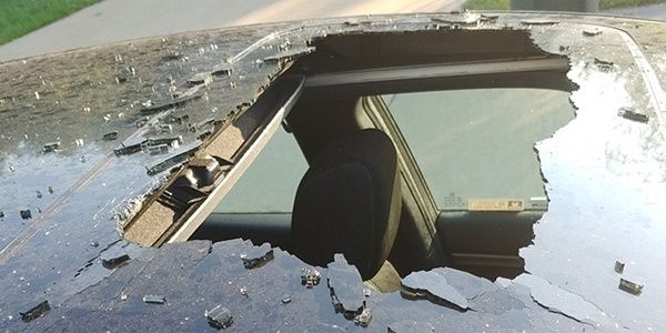 roof-of-car-destroyed-by-overheated-can-shampoo
