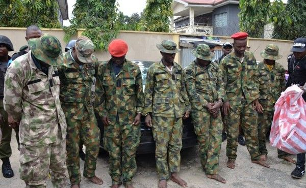 dismissed-soldiers-arrested-for-robbery-by-police