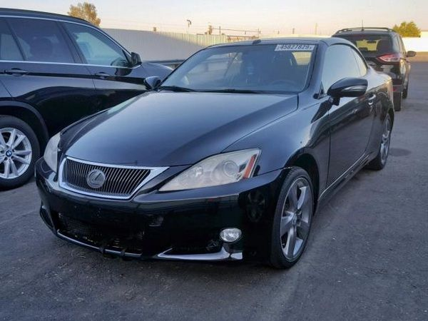 angular-front-of-a-black-Lexus-IS-250