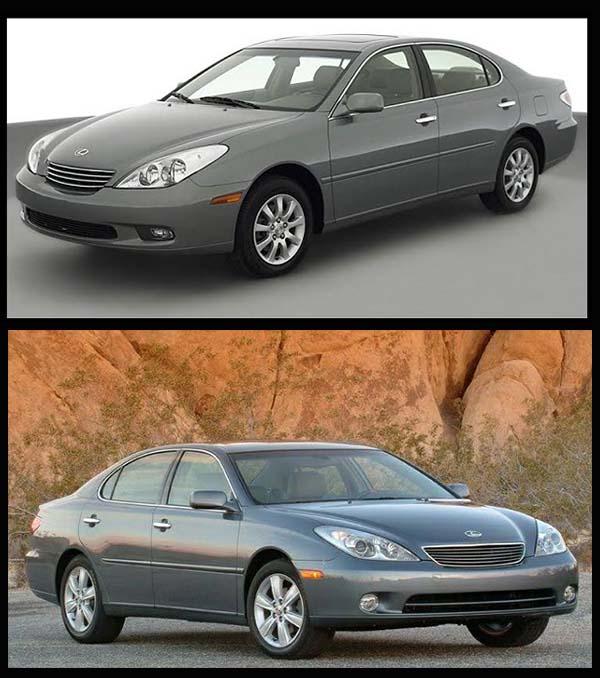 Lexus-ES-300-and-Lexus-ES-330-sedans