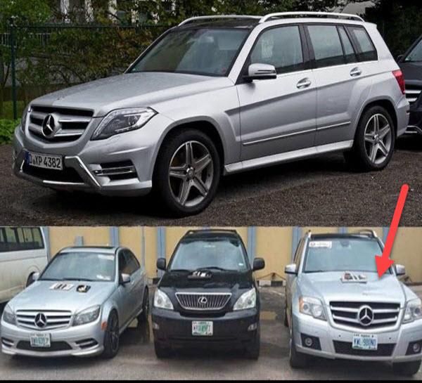 Mercedes-Benz-GLK-SUVs-seized-by-EFCC-from-Yahoo-boys