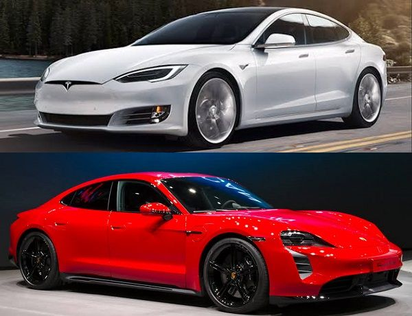 Tesla-Model-S-and-Porsche-Taycan