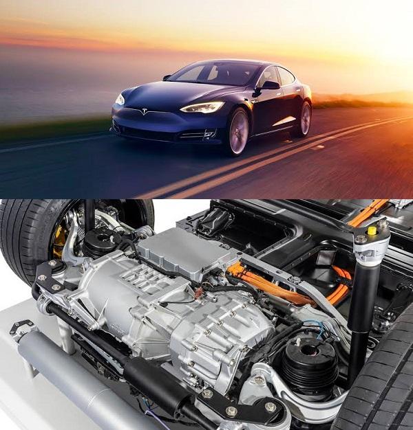 Tesla-Model-3-CAR-AND-MOTOR