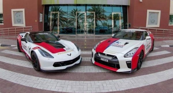 Chevy-Corvette-and-GT-R