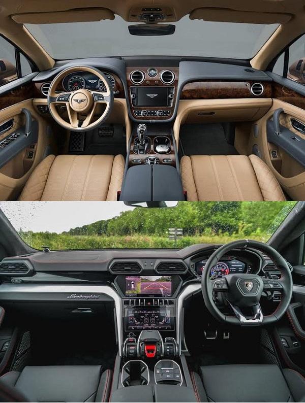 Cockpits-of-2019-Bentley-Bentayga-and-Lamborghini-Urus