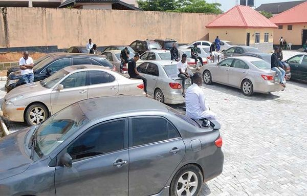 cars-recovered-from-94-yahoo-boys-in-osun