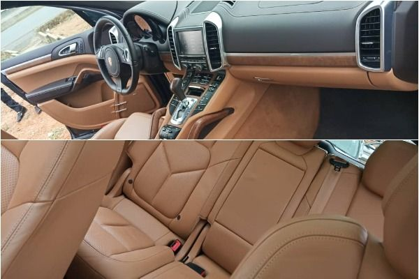 Brown-leather-interior-of-the-Porsche-Cayenne