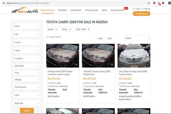 Naijauto-s-cars-for-sale