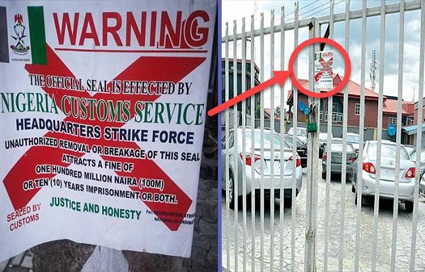 NCS-shuts-down-Car-marts-in-Lagos