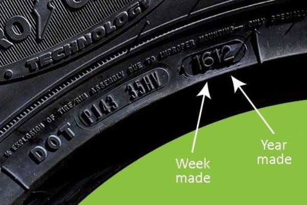 Tyre-side-wall-showing-codes-with-date-of-manufacture