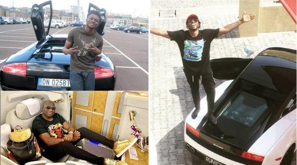 Nigerian-celebrities-who-owns-the-Lamborghini-Gallardo
