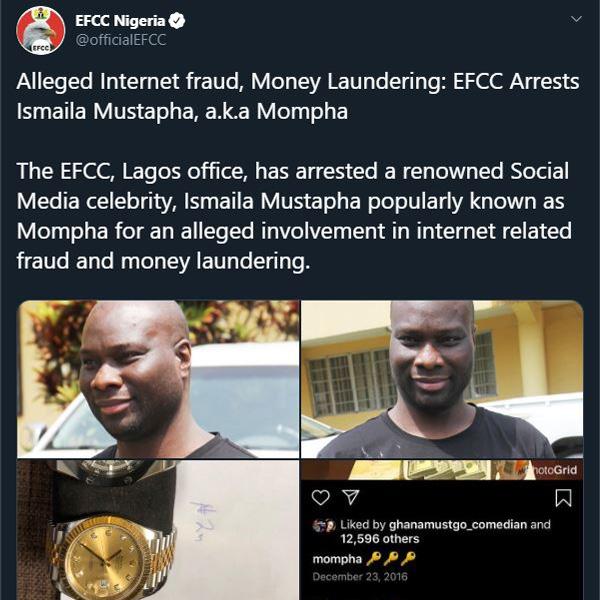 EFCC-confirms-arrest-of-Mompha