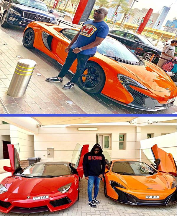 Mompha-strikes-a-pose-with-his-Mclaren-650S-sports-car