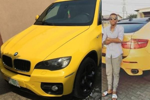 Tekno-standing-behind-his-yellow-BMW-X6