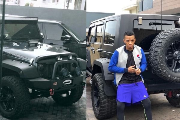 Tekno-takes-picture-with-his-Jeep-Wrangler