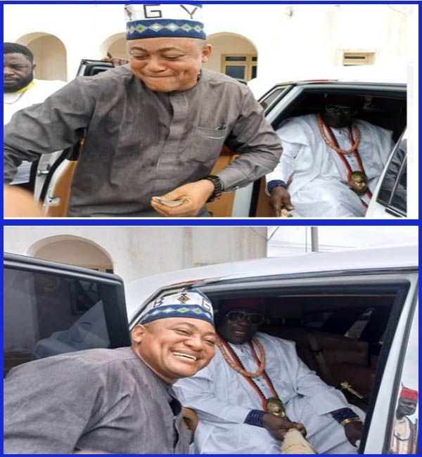 Kogi-Deputy-governor-dances-at-car-presentation-to-Attah-Igala