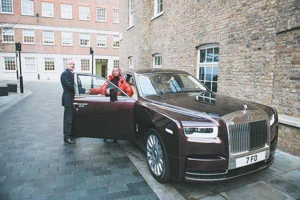 DJ-Cuppy-2019-Rolls-Royce-Phantom