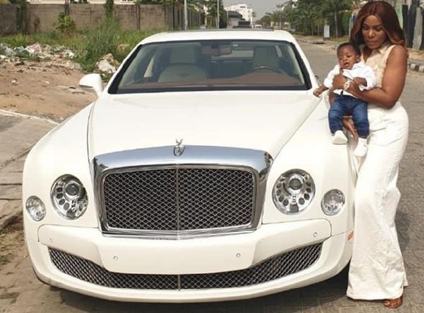 Linda-Ikeji's-Bentley-Mulsanne