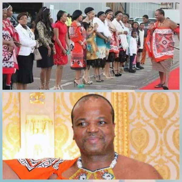 king-mswati wives