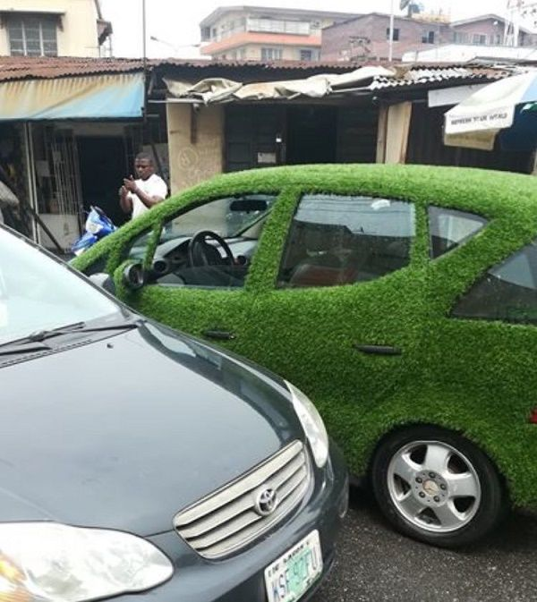 _benz-car-wrapped-with-synthetic-grass