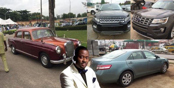 Desmond-Elliot-car-collection