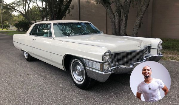Ramsey-Nouah-and-his-1959-Cadillac