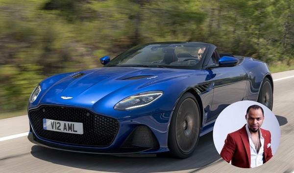 Ramsey-Nouah-and-his-Aston-Martin