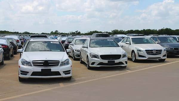 Cars-on-Copart-lot