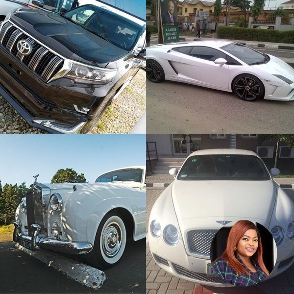Funke-akindele-car-collection