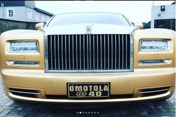 Rolls-Royce-Phantomò-omotola