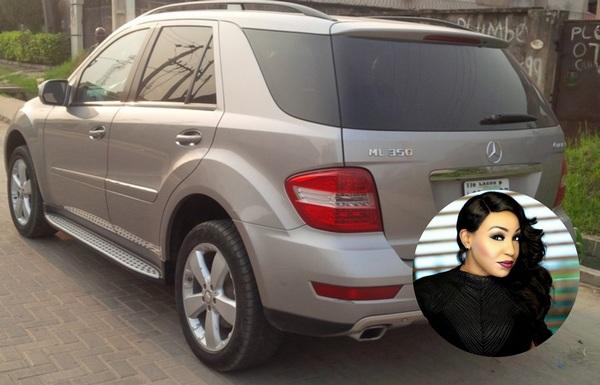 Rita-Dominic-and-her-Mercedes-Benz-ML-350