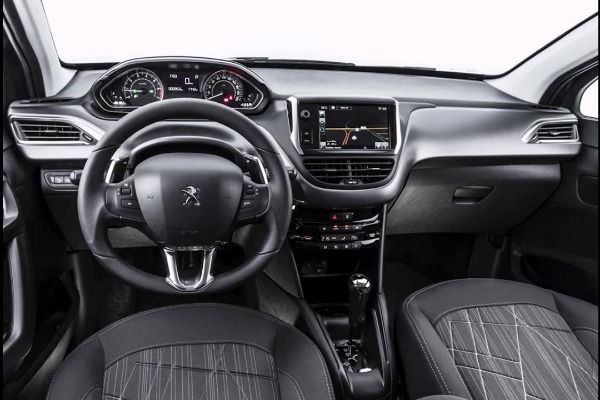The-dashboard-of-the-Peugeot-208