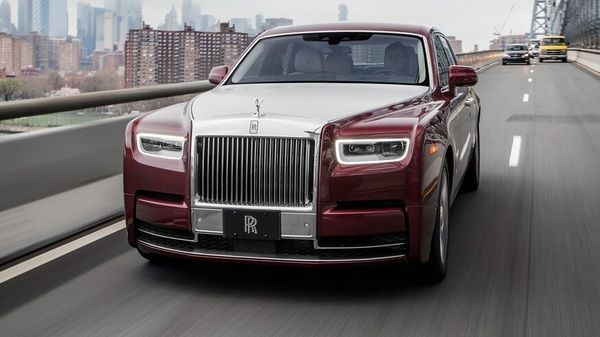 a-red-2019-rolls-Royce-phantom-on-the-road