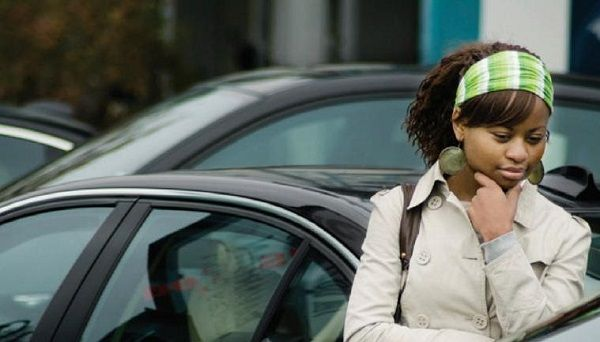 Woman-in-car-dealership