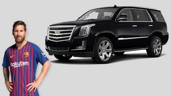 Cadillac-Escalade-and-Messi