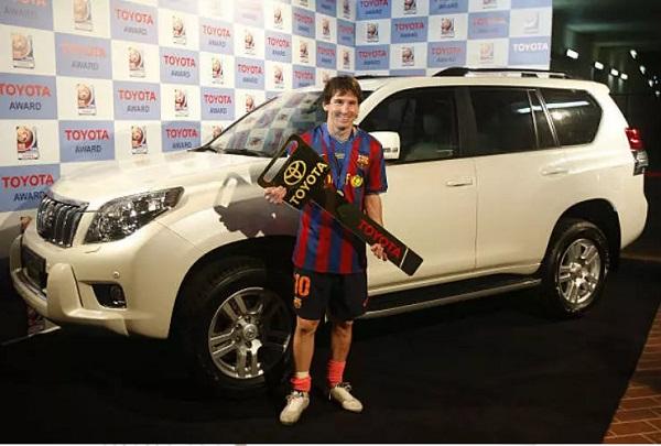 Messi-Toyota-Prado
