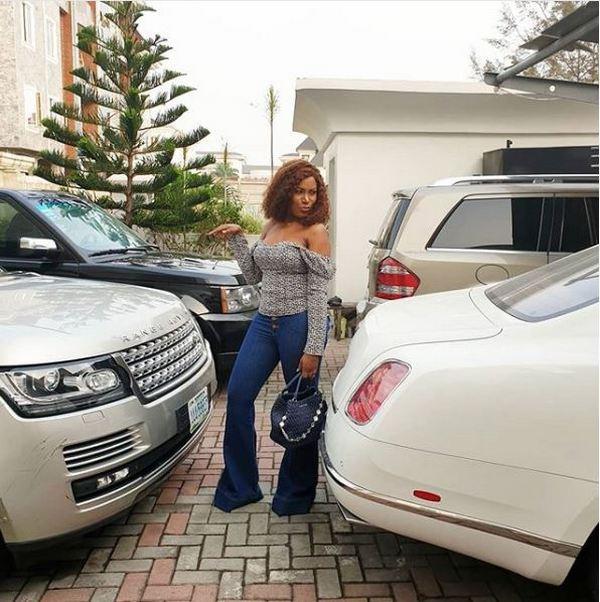Linda-Ikeji's-car-garrage