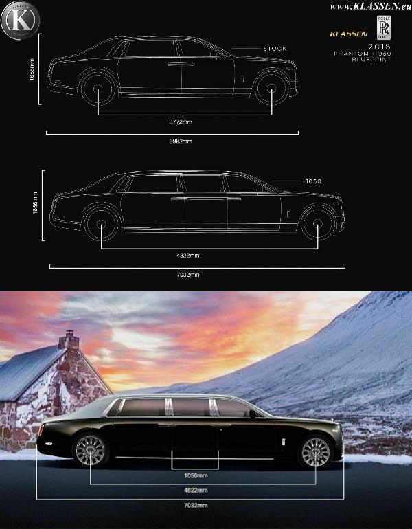 Klassen-stretches-Rolls-Royce-Phantom-VIII-into-armored-limousine