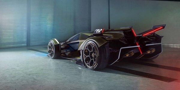 Lamborghini unveiled its jet fighter , 2019 Lambo V12 Vision