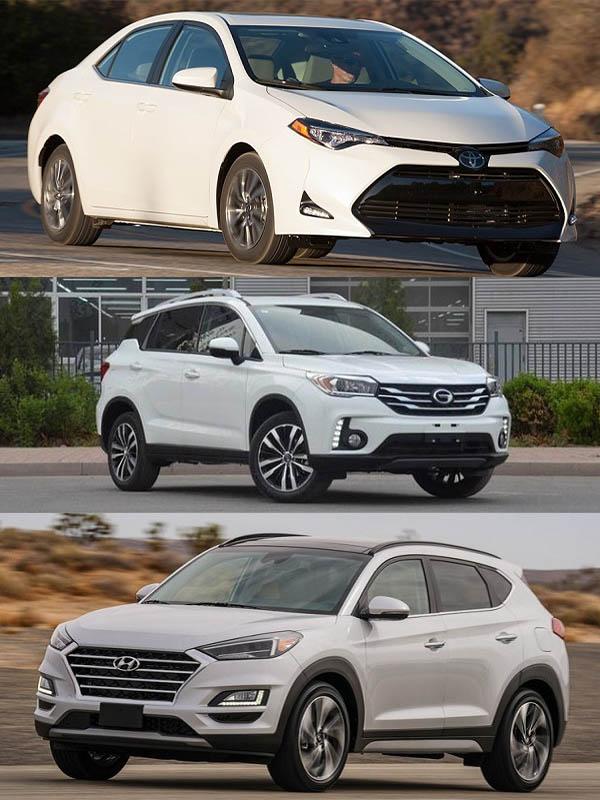 Toyota-Corolla-GAC-GS4-Hyundai-Tucson-for-Nigeria-car-of-the-year-2019