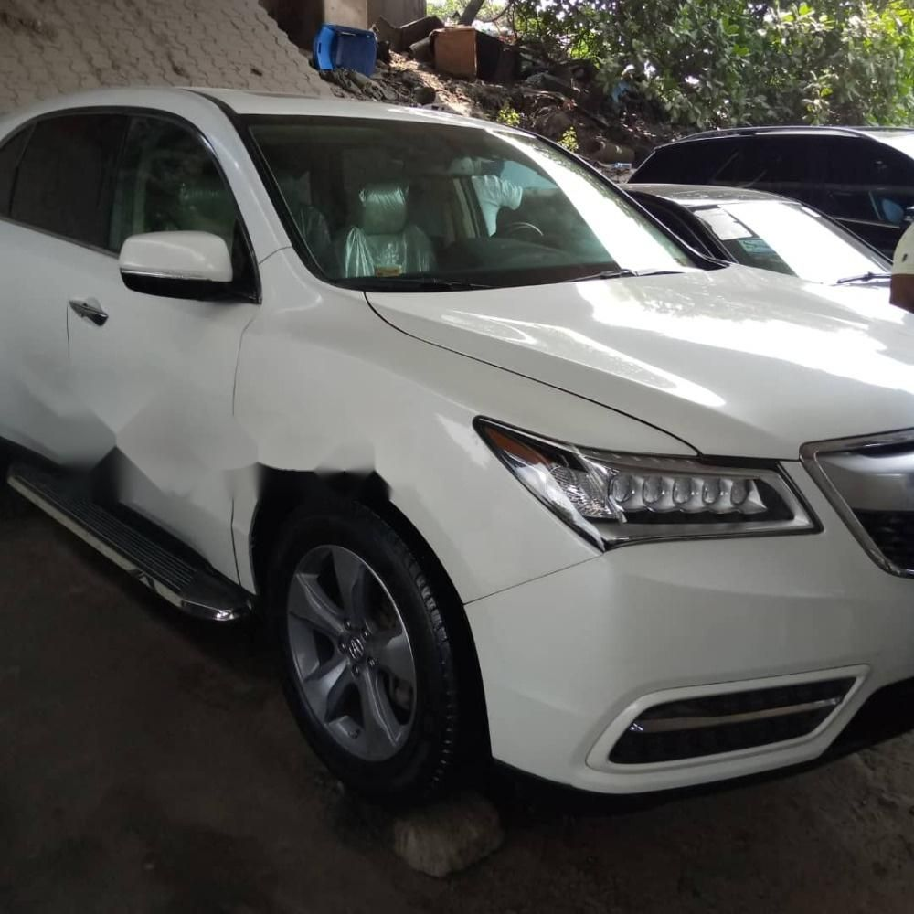 Foreign Used Acura MDX 2014 Model White