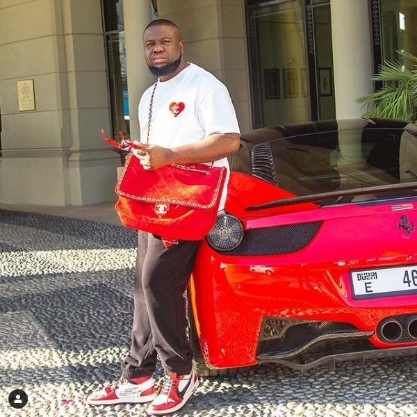Hushpuppi-Ferrari-458-Italia
