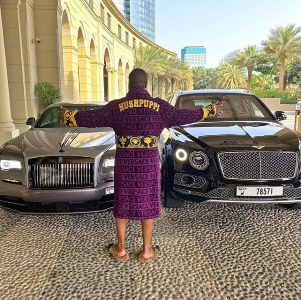 Hushpuppi-Rolls-Royce-Wraith-and-Bentley-Bentayga