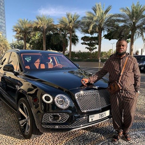 Hushpuppi-Bentley-Bentayga