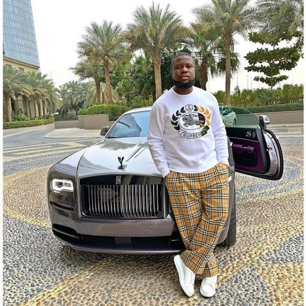 Hushpuppi-Rolls-Royce-Wraith