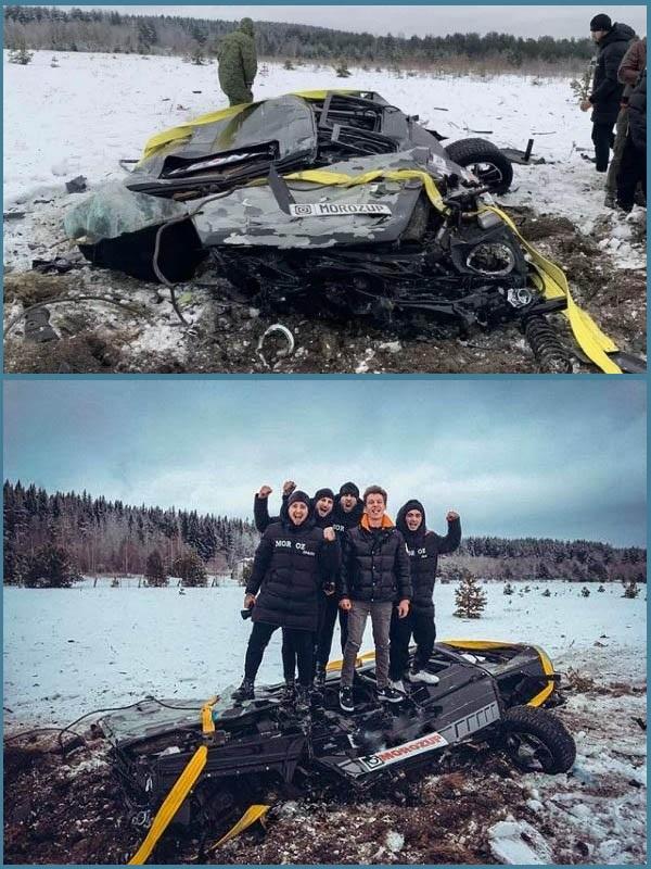 Russian-Vlogger-destroys-Mercedes-AMG-G63