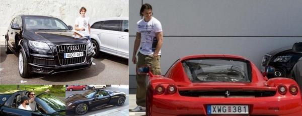 Ibrahimovic-car-collection